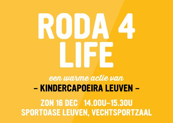 Capoeira Leuven steunt De Warmste Week